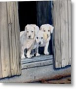 The Three Mucketeers Metal Print