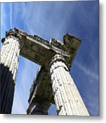 The Three Pillars Metal Print