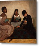The Three Races Or Equality Before The Law Metal Print