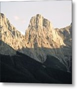 The Three Sisters Of The Rockies Metal Print