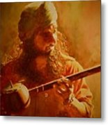 The Artist And His Muse Metal Print