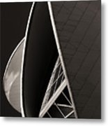 The Thrust Of Culture  Metal Print