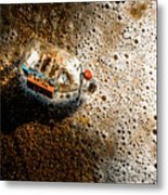 The Tide And Its Takers Metal Print