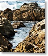 The Tide Rushes In Metal Print