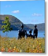 The Tides And The Hudson Metal Print