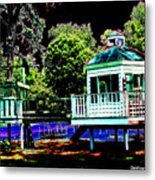 The Tides Inn Playground Metal Print