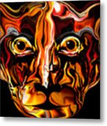 The Tigress. Metal Print