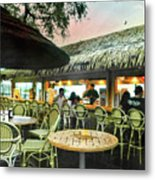 The Tiki Bar Metal Print