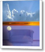 The Time Is Relative. Metal Print