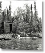 The Timeless Cabin Metal Print