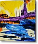 The Timeless Land - Number Five Metal Print