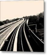 The To Do Track For Life Metal Print