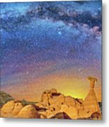 The Toadstool Metal Print