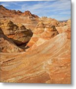 The Top Of The Wave Metal Print