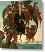 The Torment Of Saint Anthony Metal Print