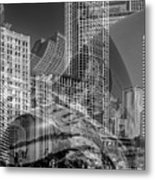 The Tourists - Chicago II Metal Print