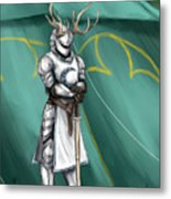 The Tourney Metal Print by Brandy Woods