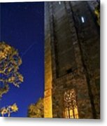 The Tower At Night Metal Print