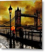 The Tower Bridge As I See Metal Print