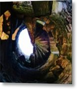 The Tower Stairs Metal Print