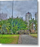 The Towers Metal Print