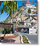 The Town Of Avalon Metal Print