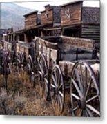 The Town Of Cody Wyoming Metal Print
