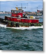 The Town Point Metal Print