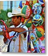 The Toy Man Metal Print