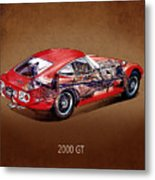 The Toyota 2000 Gt Metal Print