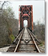 The Tracks Metal Print