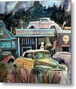 The Trading Post Metal Print