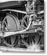 The Train Goes By Metal Print