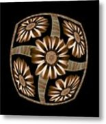 The Transformation Of Flower 4 - Growth Metal Print by Jacqueline Migell