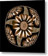 The Transformation Of Flower 5 - Reaching For The Sun Metal Print by Jacqueline Migell