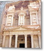 The Treasury - Jordan Metal Print