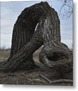 The Tree Creature Metal Print