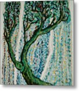The Tree Energy Metal Print
