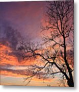 The Tree Metal Print
