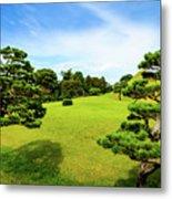 The Tree Garden Metal Print
