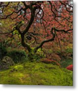 The Tree In Spring Metal Print