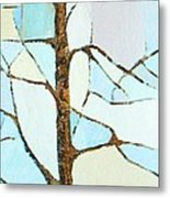 The Tree Sky Song Metal Print