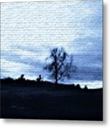 The Trees In Winter Metal Print