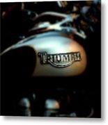 The Triumph Metal Print