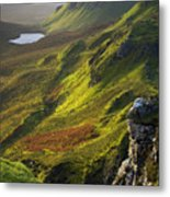 The Trotternish Hills From The Quiraing Isle Of Skye Metal Print