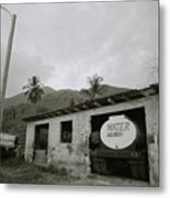 The Truck Stops Here Metal Print