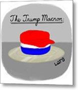 The Trump Macron Metal Print