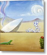 The Truth About Roswell Metal Print