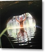 The Tunnel 7 Metal Print