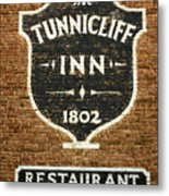The Tunnicliff Inn - Cooperstown Metal Print